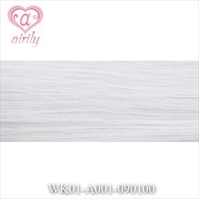 毛束 ホワイトシルバー 100cm[コスプレ ウィッグ]